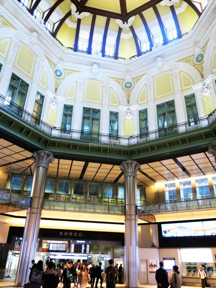 Kiến trúc bên trong Tokyo Station