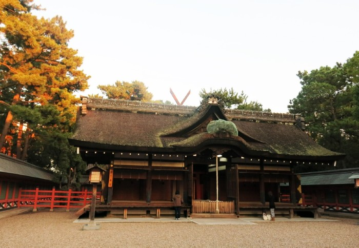 2c Den Sumiyoshi taisha