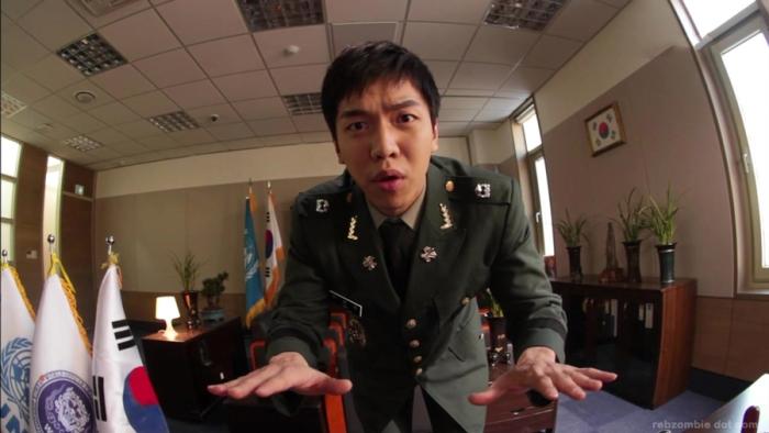 Lee Seung Gi nhí nha nhí nhống trong The King 2 Hearts