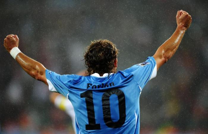 Là anh, tại WC2010