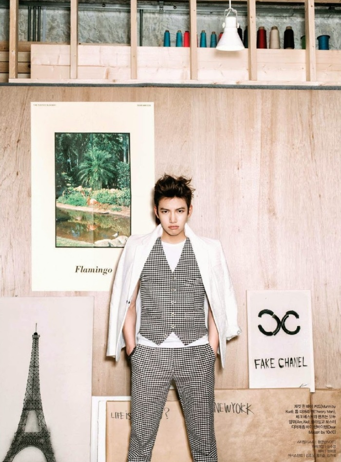 Ji Chang Wook Ceci Magazine June 2014 4