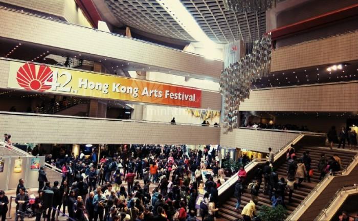 Liên hoan Nghệ thuật Hồng Kông đông nghẹt người