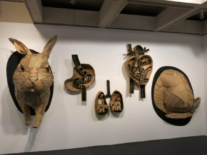 Triển lãm nghệ thuật đương tại trong Bảo tàng Nghệ thuật Hồng Kông