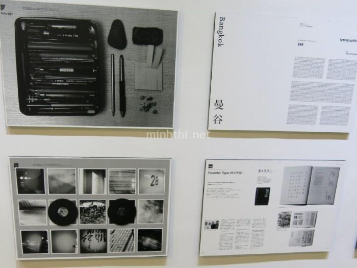 Triển lãm nghệ thuật sắp chữ và in ấn tại một ga tàu điện 1 (2)