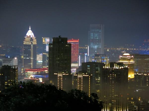 Taipei skyline ^^. Theo mình thì chỉ thua mỗi Hong Kong thôi nha. :D