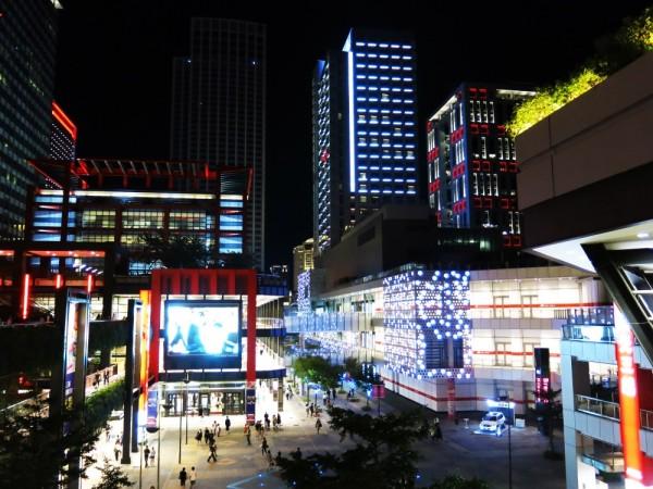 Một khu mua sắm sầm uất ở trung tâm thành phố Đài Bắc