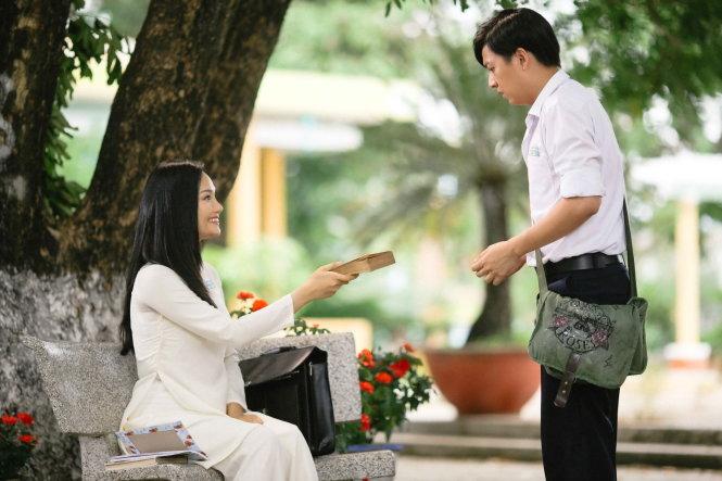 Miu Lê và Ngô Ki¿n Huy trong phim Cô gái ¿n të hôm qua - ¢nh PCC