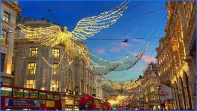 london christmas lights walking tour Lovely London Walk REGENT STREET Christmas Lights and Xmas
